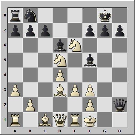 Слон, в шахматах, хотя и лёгкая фигура, но атакует не хуже тяжёлой