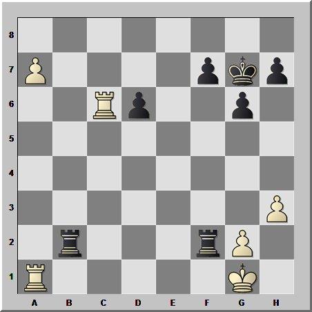 Изящный ладейный эндшпиль от действующего чемпиона мира по шахматам