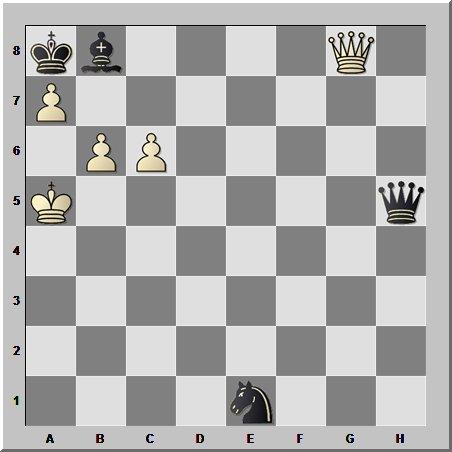 Для изучения шахматных окончаний весьма полезно решать этюды