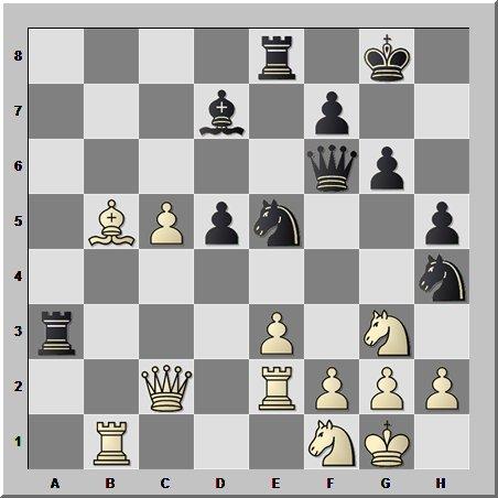 Шахматный шедевр от десятого чемпиона мира по шахматам
