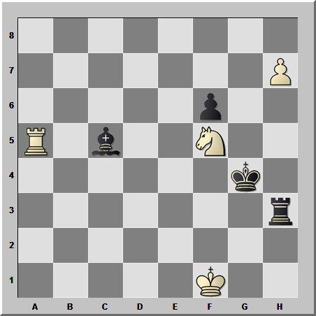 Шахматные окончания. Эндшпиль №1