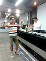 Первый этап «Кубка Эмилии» в Нижнем Новгороде выиграл Глеб Апрышко
