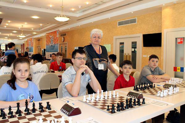 Светлана Константиновна Харитонова и ее ученики