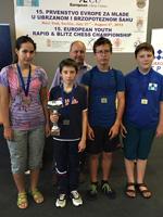 Завершился 15-й Европейский шахматный юношеский чемпионат. Итоги командного рапида. Шахматисты ЦФО выиграли золотые медали в композиции