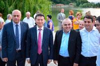 Кирсан Илюмжинов встретился с президентами Грузии и Армении