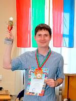 Финал Гран-При на призы Федерации шахмат Республики Татарстан выиграл Артем Тимофеев