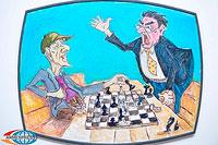 В Ереване открылась уникальная экспозиция на шахматную тематику